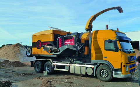 Europe Chippers EC 1175 truck mount