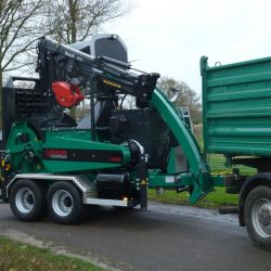Europe Chippers EC 1060 Tandem Crane Cabin 275HP