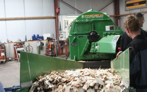 Precision Waste Wood Chipper 48