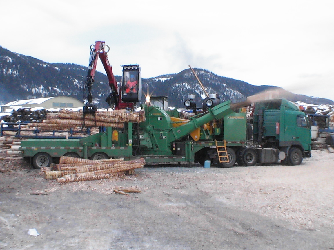 Precision Whole Tree Chipper 3086 1050 HP